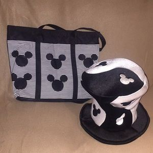 Mickey Mouse Novelty Hat and Bag!